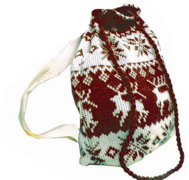 Описание: Вязанный капюшон-шарф 16030 - Зимние.