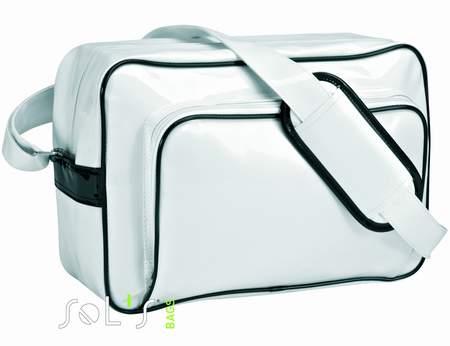 Retro taška cez rameno biela, Sol`s Bags.  Obrázok.