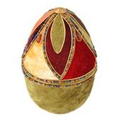 Артикул: MRM-15EGG.  Коллекция пасхальных яиц коллекция пасхальных яиц в бархатных шкатулках.