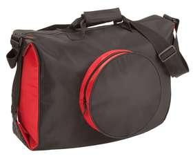 Дорожные сумки - Сумка дорожная UNIT TRAVEL, черная с красным.