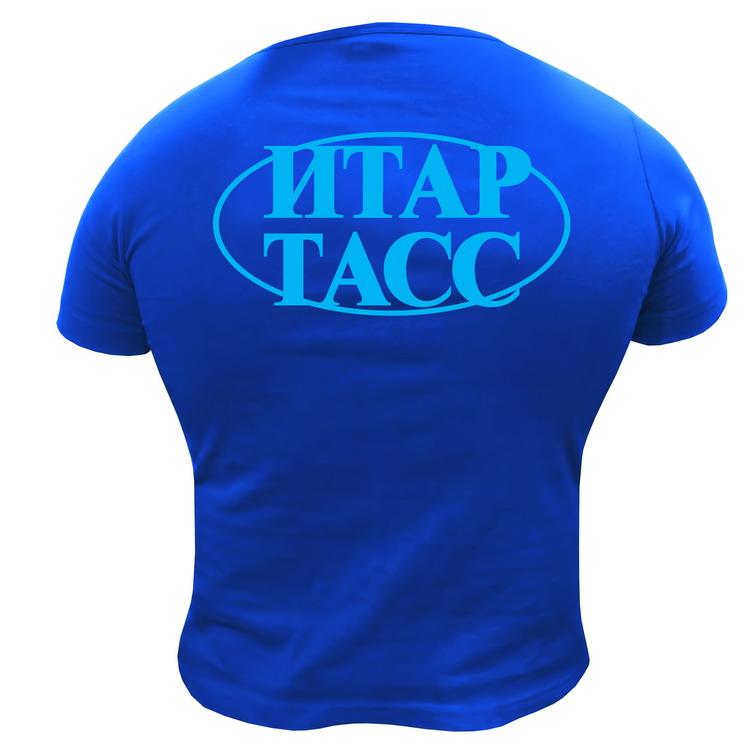 нанесение логотипа на футболки шелкография